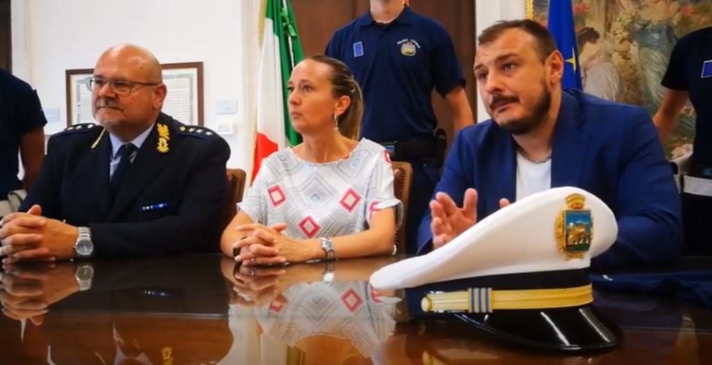 Bevilacqua Alessia Marcigaglia Enrico Berto Antonio Polizia Locale